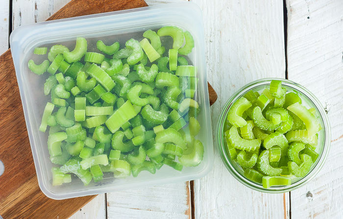 can you freeze celery